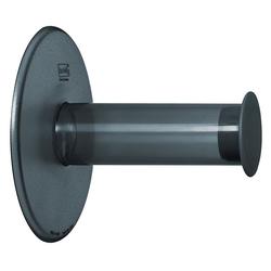 KOZIOL Toilettenpapierhalter grau
