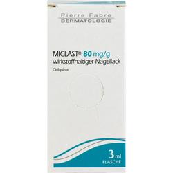 MICLAST 80 mg/g wirkstoffhaltiger Nagellack 3 ml