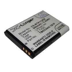 vhbw Li-Ion Akku 900mAh (3.7V) für Kopfhörer Headset Verstärker Fiio E11 wie HD533443 1S1P.
