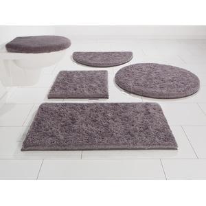 Guido Maria Kretschmer Home&Living Badematte Jari, Höhe 30 mm grau Gemusterte Badematten
