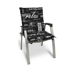 Beautissu Matelas Coussin pour Chaise Fauteuil de Jardin terrasse Relax 100x50x6cm