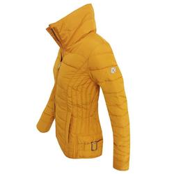 ZABAIONE Winterjacke ZBNASHLEY Damen Winter Stepp Jacke gelb XL / 42
