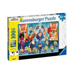 Ravensburger Puzzle XXL-Puzzle Minions 2, 100 Teile, Puzzleteile