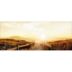 Glasbild SONNENAUFGANG(BHT 80x30x1 cm) Pro-Art