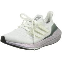 adidas Ultraboost 21 K crystal white/crystal white/hazy green 36