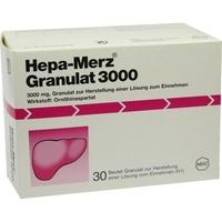 MERZ Pharmaceuticals GmbH HEPA MERZ Granulat 3.000 Btl.