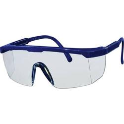 L+D 2668 Vollsichtbrille Blau DIN EN 166-1