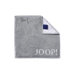 JOOP! Seifenlappen Joop! Classic Doubleface in silber, 30 x 30 cm