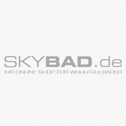 Herzbach Design new Bidetarmatur 10145360101 chrom, mit Ablaufgarnitur