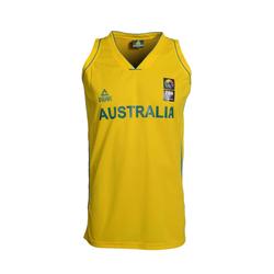 PEAK Herren Trikot 'Australia' gelb, Größe L, 3496046