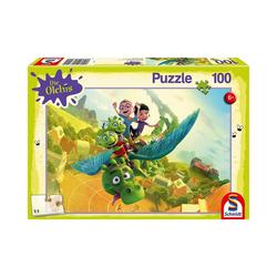 Schmidt Spiele Puzzle Puzzle Die Olchis Auf nach Schmuddelfing!, 100, Puzzleteile