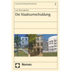 Die Staatsumschuldung als Buch von Jens Benninghofen