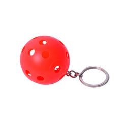 FLOORBEE Floorball Keychain 3 St., rot