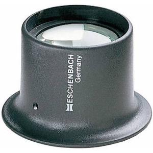 Eschenbach 1124110 Uhrmacherlupe Vergrößerungsfaktor: 10 x Linsengröße: (Ø) 25mm Anthrazit