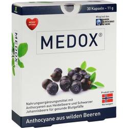 MEDOX Anthocyane aus wilden Beeren Kapseln 30 St