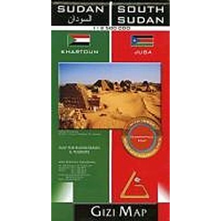 Sudan & South Sudan 1 : 2 500 000 - Buch