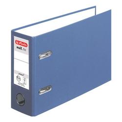 Ordner blau, Herlitz, 8x18x29 cm