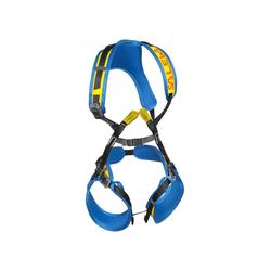 Salewa Kinderklettergurt Rookie Full Body Complete Gurtfarbe - Blau, Gurtart - Kindergurt, Gurtgewicht - 401 - 500 g, Gurtgröße - Universal,