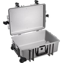 B & W Outdoor Koffer outdoor.cases Typ 6700 51l (B x H x T) 610 x 430 x 265mm Grau 6700/G/SI
