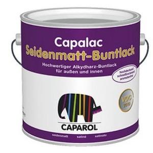 Caparol Capalac Seidenmatt Buntlack 375ml Schokoladenbraun RAL 8017