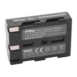 vhbw Li-Ion Akku für Kamera, Video, Camcorder Minolta Dimage A1, A2, Konica Minolta Dynax 5D, 7D wie NP-400.