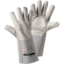 Worky 1826 Schweißer-Handschuh Rindnarbenleder und Spaltleder Größe (Handschuhe)