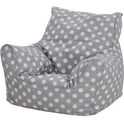 Knorrtoys® Sitzsack Dots, grey, für Kinder