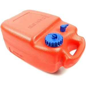 wellenshop 12 Liter Bootstank Benzintank mit Entlüftung Außenborder Kraftstofftank Außenborder-Tank Tank Boot Kanister