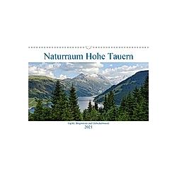 Naturraum Hohe Tauern - Gipfel, Bergwiesen und Gletscherwasser (Wandkalender 2021 DIN A3 quer)