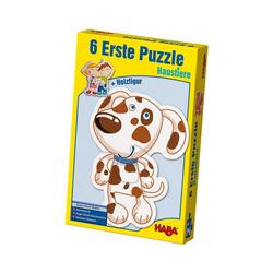 Haba Puzzle HABA 3902 6 Erste Puzzle - Haustiere, Puzzleteile