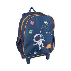 Idena Trolley Rucksacktrolley Astronaut, 31 x 27 x 10 cm blau