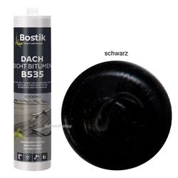 Bostik B535 Dach Dicht Bitumen Universaldichtstoff 300ml Kartusche schwarz
