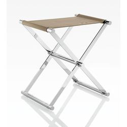 Joop Barhocker CHROMELINE, zusammenklappbar beige Barmöbel Küchenmöbel