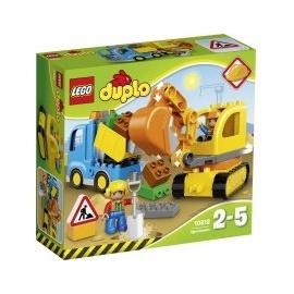 Lego Duplo Bagger & Lastwagen