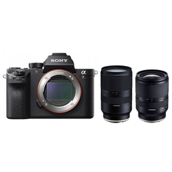 Sony Alpha 7R Mark II + Tamron 17-28mm + Tamron 28-75mm Sony E-Mount