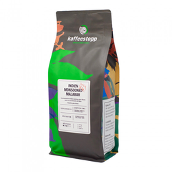 "Kaffeebohnen Kaffeestopp Privatrösterei ""India Monsooned Malabar"