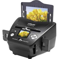 Reflecta 3in1 Scanner Diascanner, Fotoscanner, Negativscanner 1800 dpi Digitalisierung ohne PC, Disp