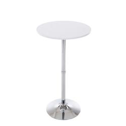 CLP Bartisch Stehtisch rund, Durchmesser: Ø 60 cm weiß