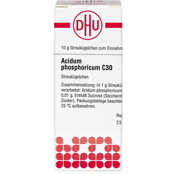 ACIDUM PHOSPHORICUM C 30 Globuli 10 g