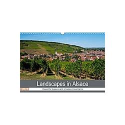 Landscapes in Alsace (Wall Calendar 2021 DIN A3 Landscape)