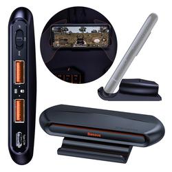 Baseus Baseus Gamo Mobile Game Adapter Splitter USB Hub 2x USB HUB GA01 für Tastatur Keyboard Computermaus Maus schwarz HUB
