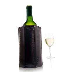 VACUVIN Weinkühler Aktiv Schwarz, Aktiv-Kühlmantel schwarz