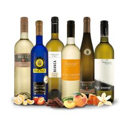 Unsere besten lieblich-süßen Weißweine im Probierpaket
