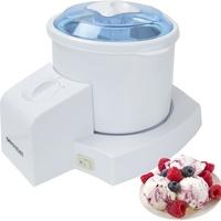 Syntrox 4in1 Eismaschine Joghurtbereiter, Frozen Jogurt-Milchshake Maschine Flaschenkühler