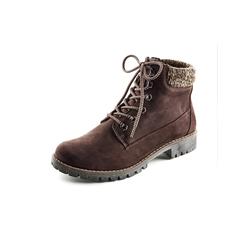 Avena Damen Hallux-Strick-Boots Braun 36, 37, 38, 39, 40, 41, 42