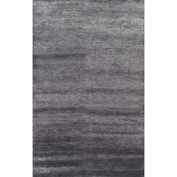 Bambusfaser Teppich Bamboo (Grau; 240 x 340 cm)