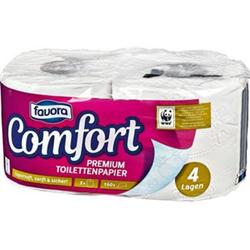 Favora Toilettenpapier 2x160 4 lagig