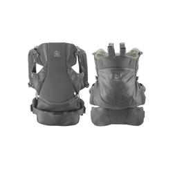 Stokke Babytrage Stokke® MyCarrier™ Bauch- und Rückentrage – Mitwachsende Babytrage für Neugeborene – 3 in 1 Tragesystem aus Bio-Baumwolle – Ultraleicht & ergonomisch grün