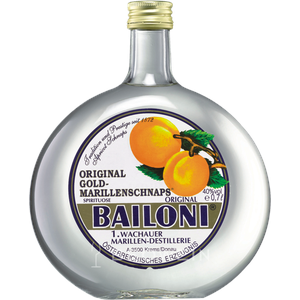 Bailoni Wachauer Gold Marillenschnaps 0,7 l