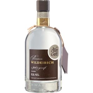 Alde Gott Edelbrand Premium Wildkirsch 5 Jahre gereift 42% vol. 0,5l